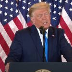 Speech: Donald Trump claimt overwinning (2020)